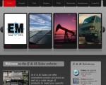 E&M Sales' new website